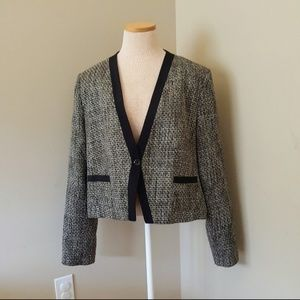 Dana Buchman XL Blazer Tweed Like